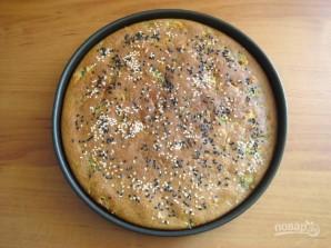Лепешка с отрубями, сыром и зеленью - фото шаг 8