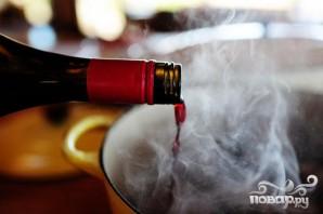 Ребрышки с вином и сливками - фото шаг 2