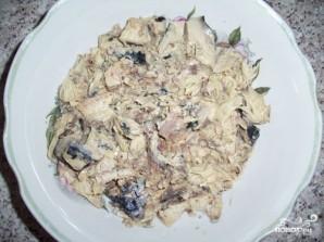 Салат из скумбрии с рисом - фото шаг 1