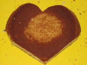 """Торт """"Влюбленное сердце"""" - фото шаг 1"""