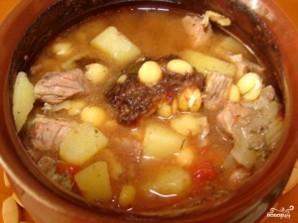 Суп гороховый в горшочке - фото шаг 5
