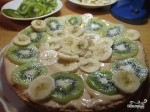 Бисквитный торт с бананом и киви - фото шаг 8