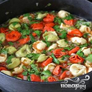 Суп с пельменями - фото шаг 7
