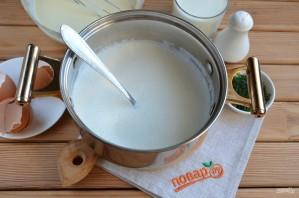 Домашний сыр из молока и сметаны - фото шаг 4