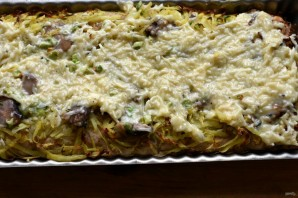 Открытый пирог с картофелем и молоками сельди - фото шаг 6