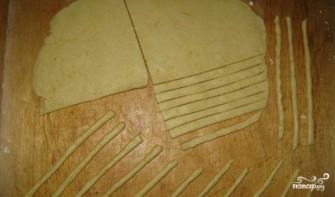 Сырная соломка - фото шаг 4