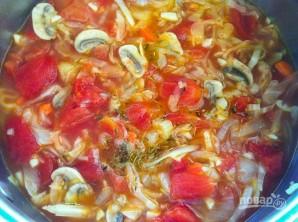 Суп из овощей и грибов - фото шаг 5