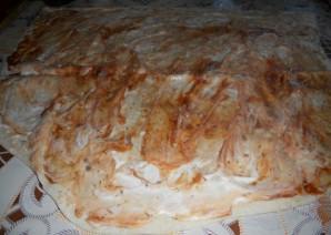 Начинка с колбасой для лаваша - фото шаг 5