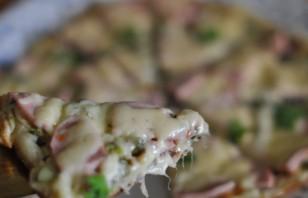 """Пицца """"Минутка"""" на сковороде - фото шаг 9"""