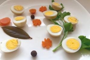 Маринованные перепелиные яйца - фото шаг 6