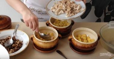 Рецепт картошки в горшочках в духовке - фото шаг 2