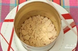 Салат слоеный с курицей и шампиньонами - фото шаг 5