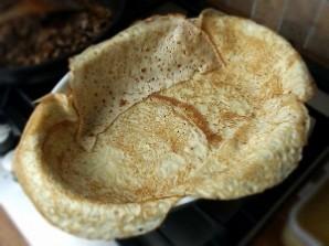 Пирог из блинов с мясом - фото шаг 3