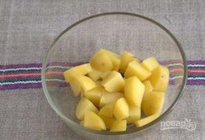 Картофельный салат с квашеной капустой - фото шаг 2