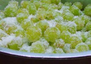 Варенье из винограда в духовке - фото шаг 1