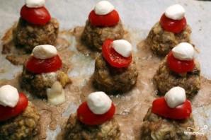 Мясные фрикадельки с моцареллой - фото шаг 6