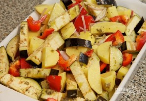 Овощи, запеченные в духовке - фото шаг 8