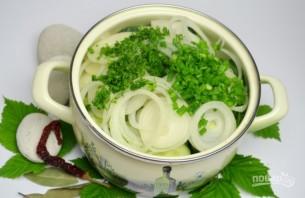 Салат из огурцов и лука на зиму - фото шаг 5