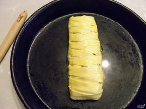 Пирог с рыбой из слоеного теста - фото шаг 11