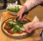 Пицца с рукколой и ветчиной - фото шаг 3