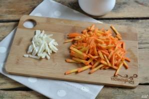 Маринованная цветная капуста с морковью - фото шаг 2