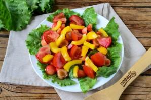Салат с черешней и курицей - фото шаг 4