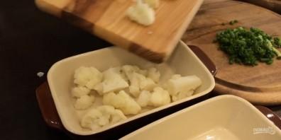 Цветная капуста под сыром (вкусно и полезно) - фото шаг 3