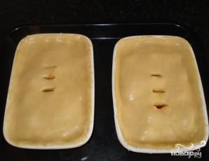 Пирог с грибами и сыром стилтон - фото шаг 4