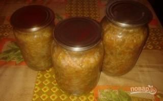 Салат на зиму с рисом - фото шаг 10