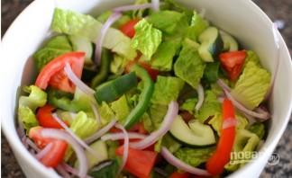 Салат по-турецки - фото шаг 2
