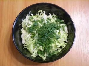 Капустный салат для похудения - фото шаг 3