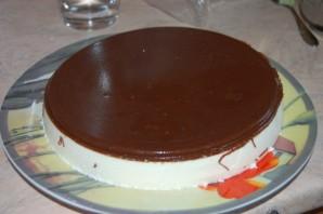 "Торт ""Птичье молоко"" со сгущенкой - фото шаг 6"
