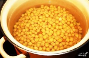 Гороховый суп с копчеными рёбрышками - фото шаг 1