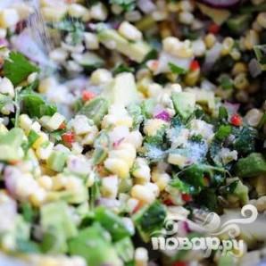 Сальса из свежей кукурузы и авокадо - фото шаг 11