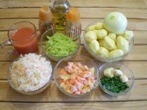 Рагу из овощей в мультиварке - фото шаг 1