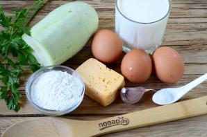 Блинчики из кабачков с сыром и чесноком - фото шаг 1