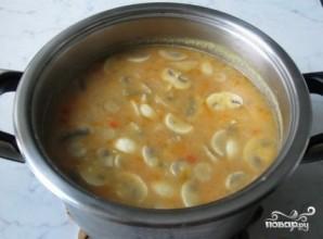 Гороховый суп с томатной пастой - фото шаг 8