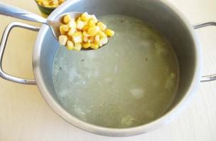 Сливочный суп с курицей - фото шаг 7