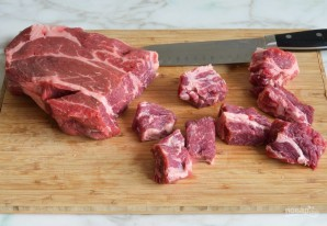 Жаркое из говядины с овощами - фото шаг 1