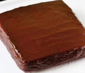 Шоколадный торт с бананом - фото шаг 10