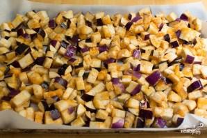 Салат из запеченных баклажанов - фото шаг 5