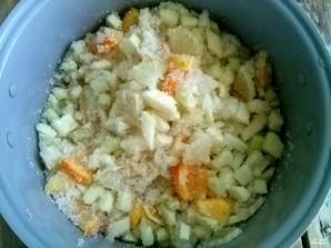 Варенье из кабачков с лимоном и апельсином - фото шаг 4