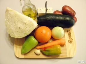 Овощное рагу в мультиварке - фото шаг 1