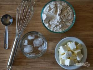 Тарт с яблоками и сыром - фото шаг 1
