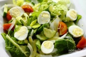 Салат с куриной грудки - фото шаг 4