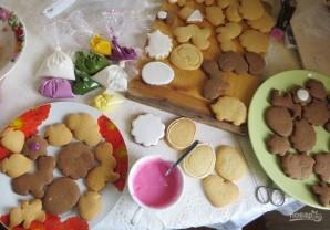 Печенье расписное своими руками - фото шаг 8
