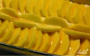 Слоеный пирог с творогом и яблоками - фото шаг 4