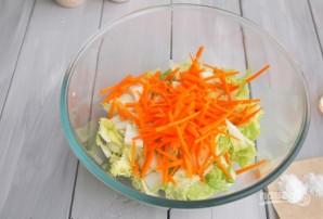 Салат из корейской капусты - фото шаг 2