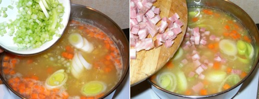 Густой суп из чечевицы - фото шаг 4