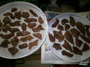 Мясные чипсы - фото шаг 2